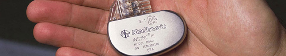 Medtronic in hand